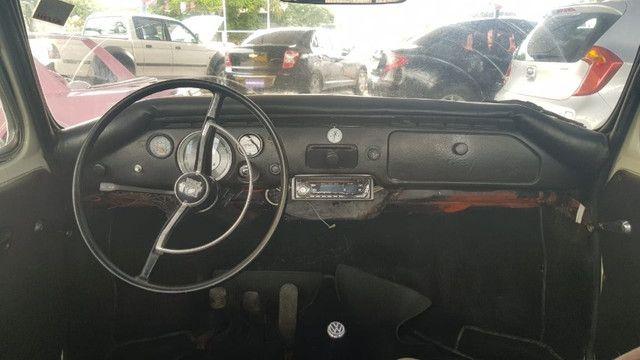VW Fusca Zê do Caixão 1969, motor 1600; Carro de fácil restauração. - Foto 9