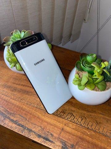 Vendo Samsung A80 , 128gb - bairro do poço - Foto 5
