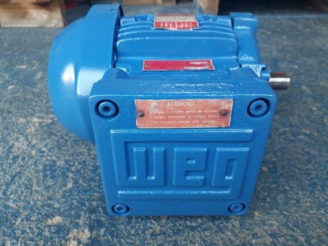 Motor elétrico trifásico 0.5 cv rpm 850 à prova de explosão. - Foto 4