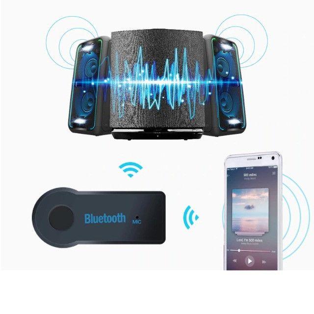 Adaptador Bluetooth para Som Automotivo Receptor Buetooth para Som Antigo - Foto 4