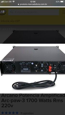 Amplificador arcano power 6 - Foto 2