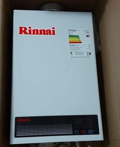 Aquecedor a Gás Rinnai Digital GN 12L - Seminovo