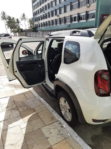Renault Duster - branca - automático - único dono - Foto 2