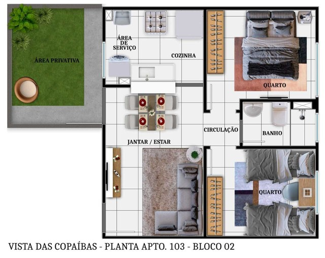Grande Lançamento Vista dos Copaíbas no Planalto. - Foto 3