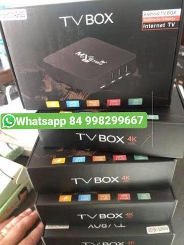 Tv box 64gb 4gb em promoção relampago<br>Mxq pro 4k o mais atualizado