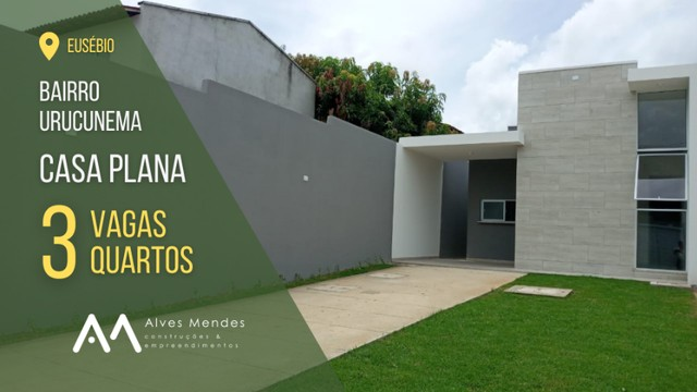 Casa Padrão com 3 quartos e 3 vagas no Eusébio próx ao Centro - Foto 8