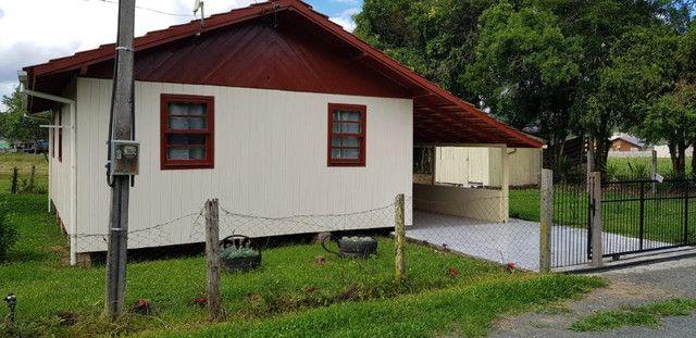 Casa de madeiras em Urubici