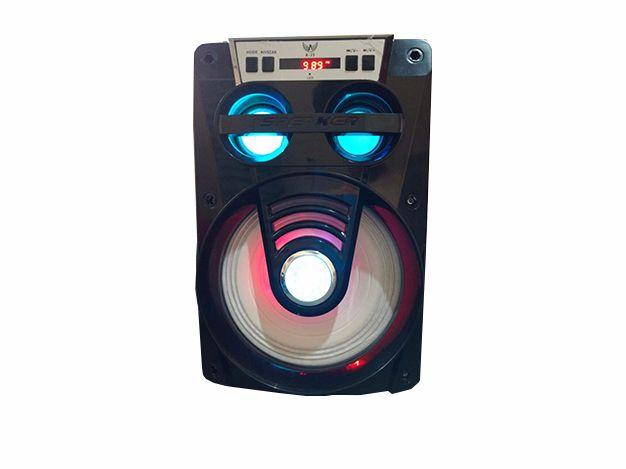 Speaker Bluetooth Com Bateria Interna USB, Sd Fm Ltomex
