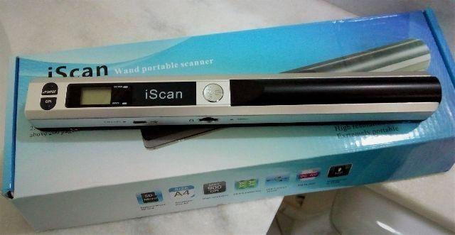 Scanner Portátil novo
