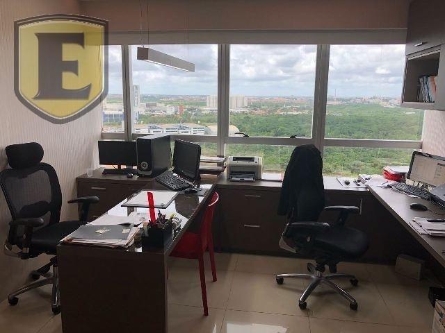 3225 - (3225) Sala no Office Tower, toda planejada com vista para Colares More... - Foto 8
