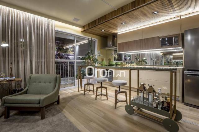 Apartamento com 3 dormitórios à venda, 84 m² por R$ 524.000,00 - Setor Oeste - Goiânia/GO - Foto 4