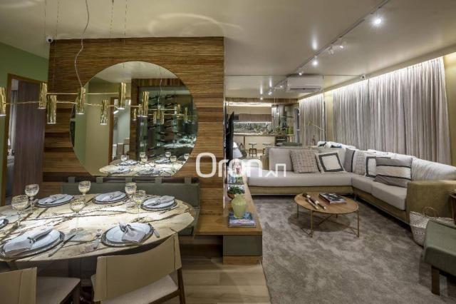 Apartamento com 3 dormitórios à venda, 84 m² por R$ 524.000,00 - Setor Oeste - Goiânia/GO - Foto 3