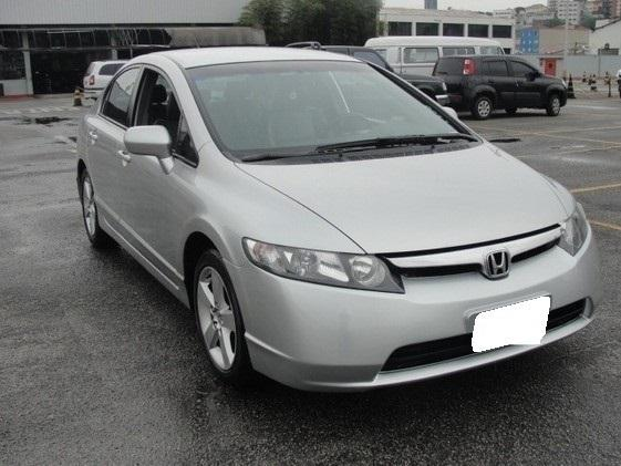 New civic 1.8 lxs 2007 prata - Foto 2