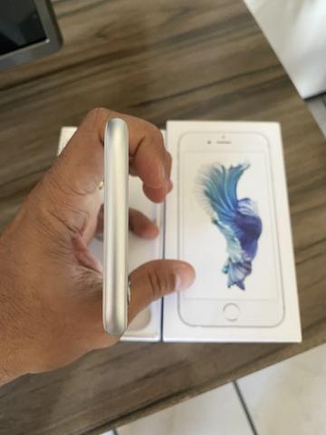 Iphone 6s 32gb silver IMPECÁVEL - 3x sem juros - Foto 3
