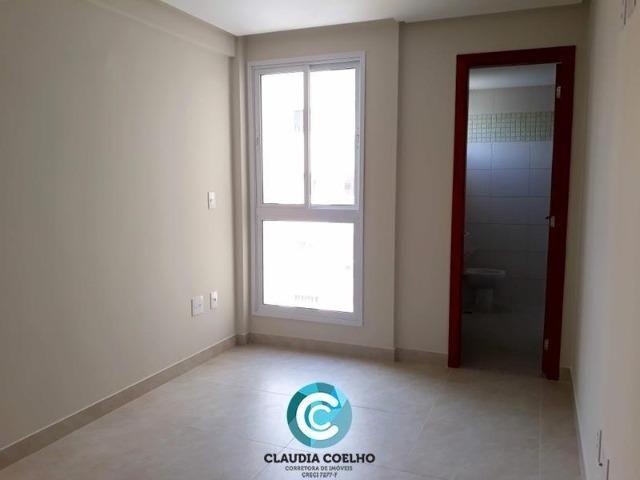 Lindíssimo apartamento, com área de lazer, em Guarapari na praia do morro! - Foto 13