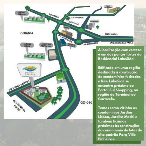 Residencial Lakeside - 84m² - Aceito carro - Foto 3