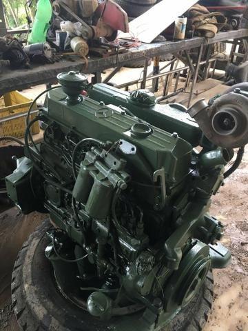 Motor OM 366 Mercedes 1218 1418 1618 1620 base de troca - Foto 3