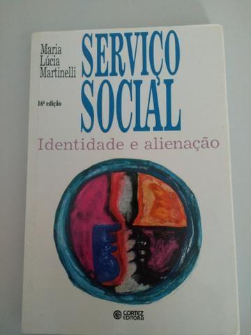Livro de Serviço Social Identidade e alienação (Maria Lúcia Martinelli)