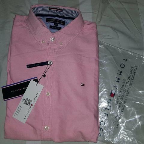 8bfd5c58ce Camisa Social TOMMY HILFIGER  Original - Roupas e calçados - União ...