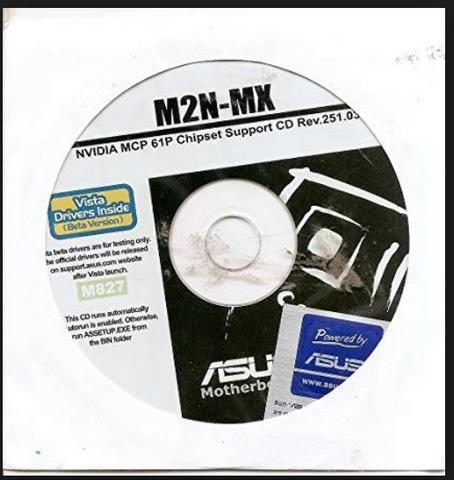 Dvd Placa Mãe Asus M2n - Mx