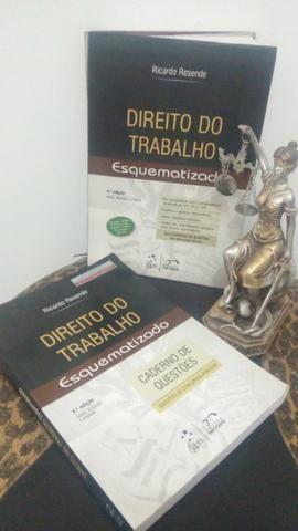 Livro Direito do Trabalho Esquematizado - Ricardo Resende
