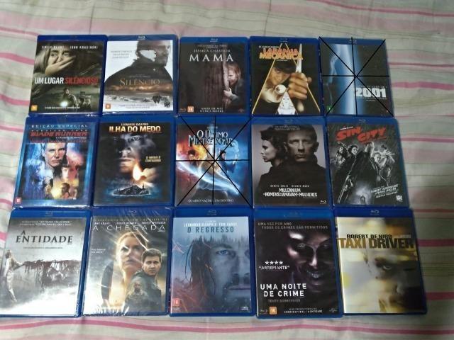 Blu Rays Seminovos e Lacrados de Coleção