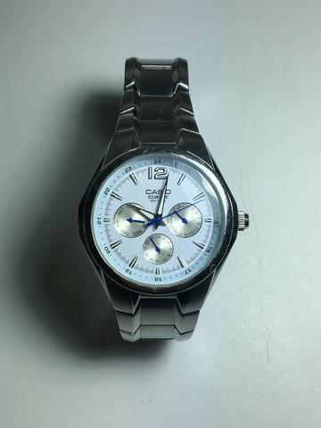 866423a34ff Relógio Casio Edifice fundo branco - Bijouterias
