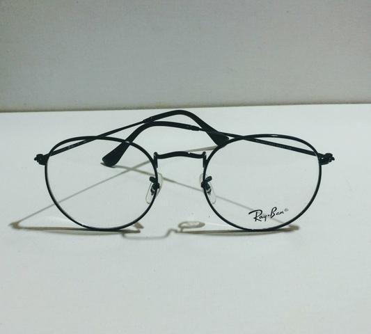 Armação oculos de grau RayBan redonda - Bijouterias, relógios e ... 5086cce494