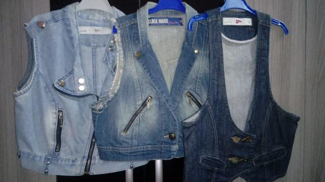 Coletes jeans