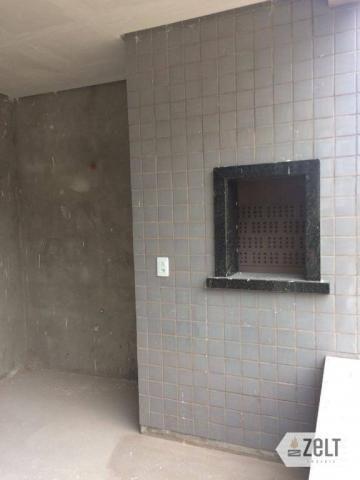 Apartamento com 3 dormitórios à venda, 91 m² por r$ 300.000 - sol - indaial/sc - Foto 2