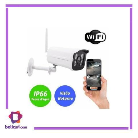Câmera de segurança ip wifi externa sem fio