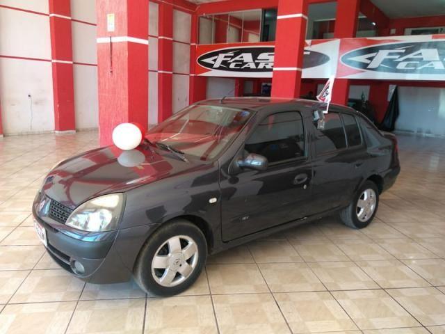 Renault clio sedan privilege 1.6 16v completo 2004 - Foto 13