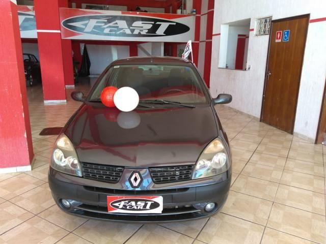 Renault clio sedan privilege 1.6 16v completo 2004 - Foto 14