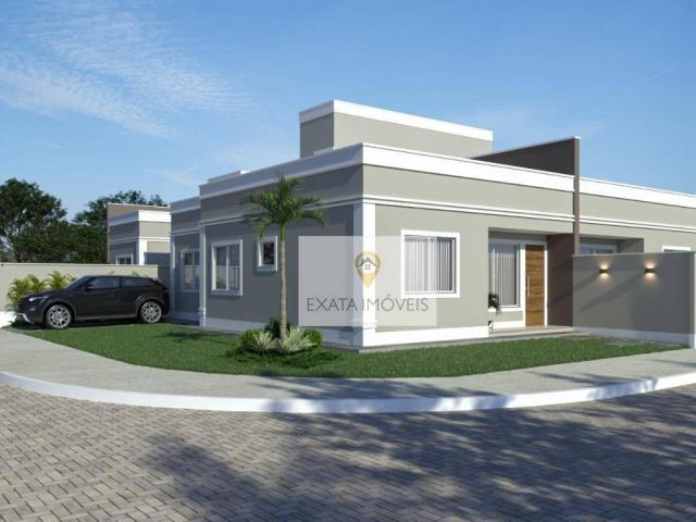 Lançamento! Casas lineares 3 quartos/ Chácara Marilea/ Rio das Ostras - Foto 2