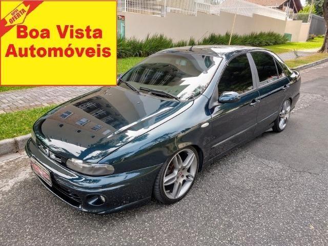 Fiat Marea SX 1.8 2002 . Suspensão a ar Rodas 17 Super Oferta Boa Vista Automóveis