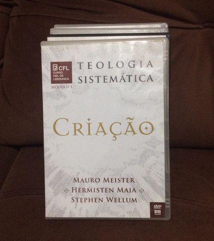 Coleção de dvd?s de estudos teologia sistemática (editora fiel)