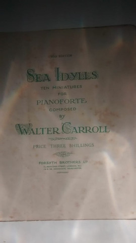 Partituras antigas de piano - Foto 4
