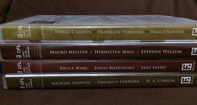 Coleção de dvd?s de estudos teologia sistemática (editora fiel) - Foto 5