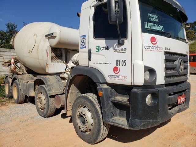 Locação Caminhão BETONEIRA 6x4 Bomba de Concreto Usina Cimento VW FORD MB Liebherr  - Foto 5