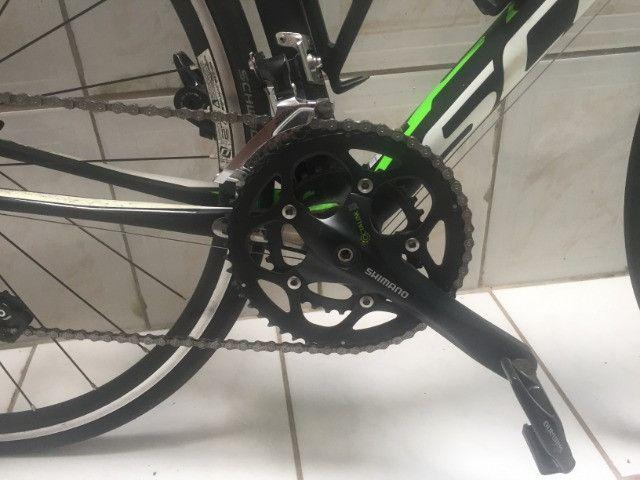 Bike Scott Cr1 30 2016 + Rolo de treino - Frete Grátis Para Zona Da Mata Mineira - Foto 4