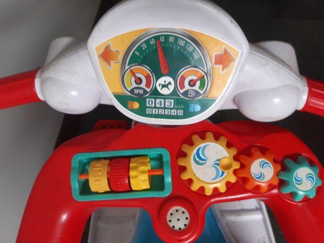 Motoca que virá triciculo tem efeito sonoro!!***** - Foto 4