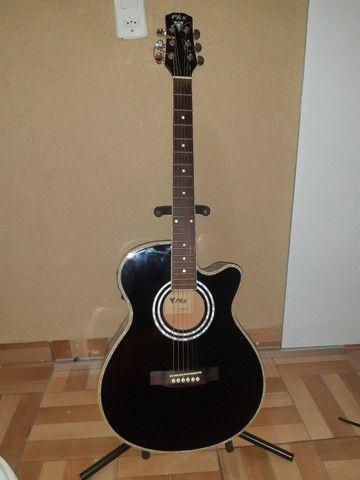 Vendo violão profissional PHX-188EQ  - Foto 3