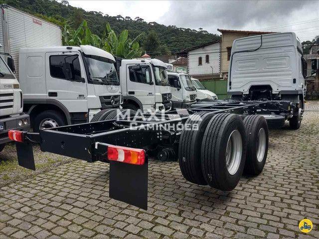 MB Atego 2426 6x2 Truck OKM Completo Pronta entrega - Foto 7