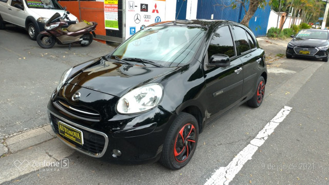 Nissan March 1.0 S Flex Revisado Kit Mult. Novo !! - Foto 3
