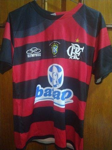Camisa do Flamengo + Medalha  - Foto 5