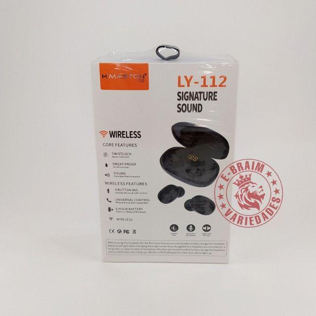 Fone de Ouvido Bluetooth H'maston Pro LY-112 - Foto 3
