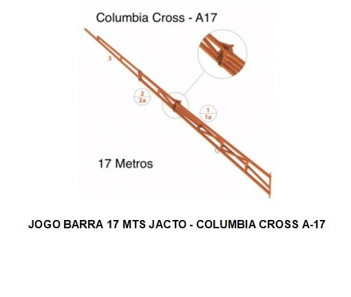 Jogo Barra para Pulverização Jacto - Foto 4