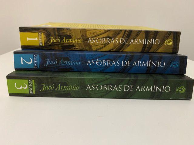 As obras de Armínio. 3 volumes.