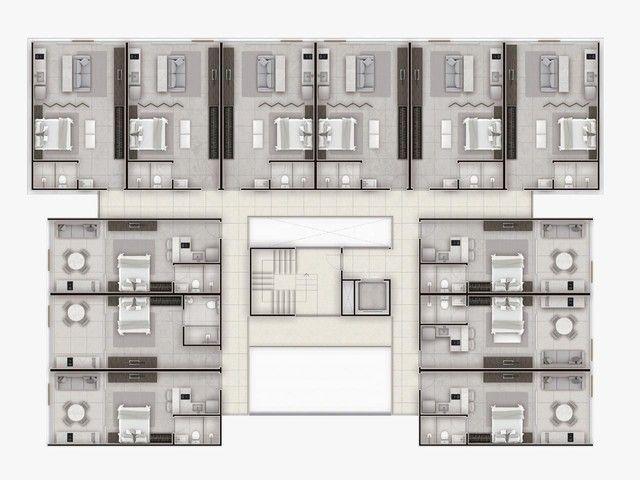 Cabo branco 1 ou 2 quartos fiado em 100 parcelas - Foto 7
