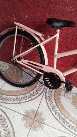 Vendo bicicleta aro 24 cesizinha - Foto 3